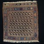 Bakhtiary suzani bagface, 1900 ca. good condition