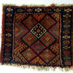jaf kurd bagface, 1900 ca. reduced but in good condition