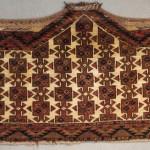 ersari asmalyk 7 sides, rare piece with ivory field