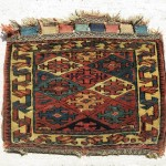 Qashqai Khorjin, great wool and in very good condition apart some little wear. cm 40x47. NO MORE AVAILABLE