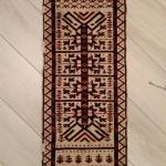 Turkmen tent band (jolami) fragment, 31x96cm. 1850 ca