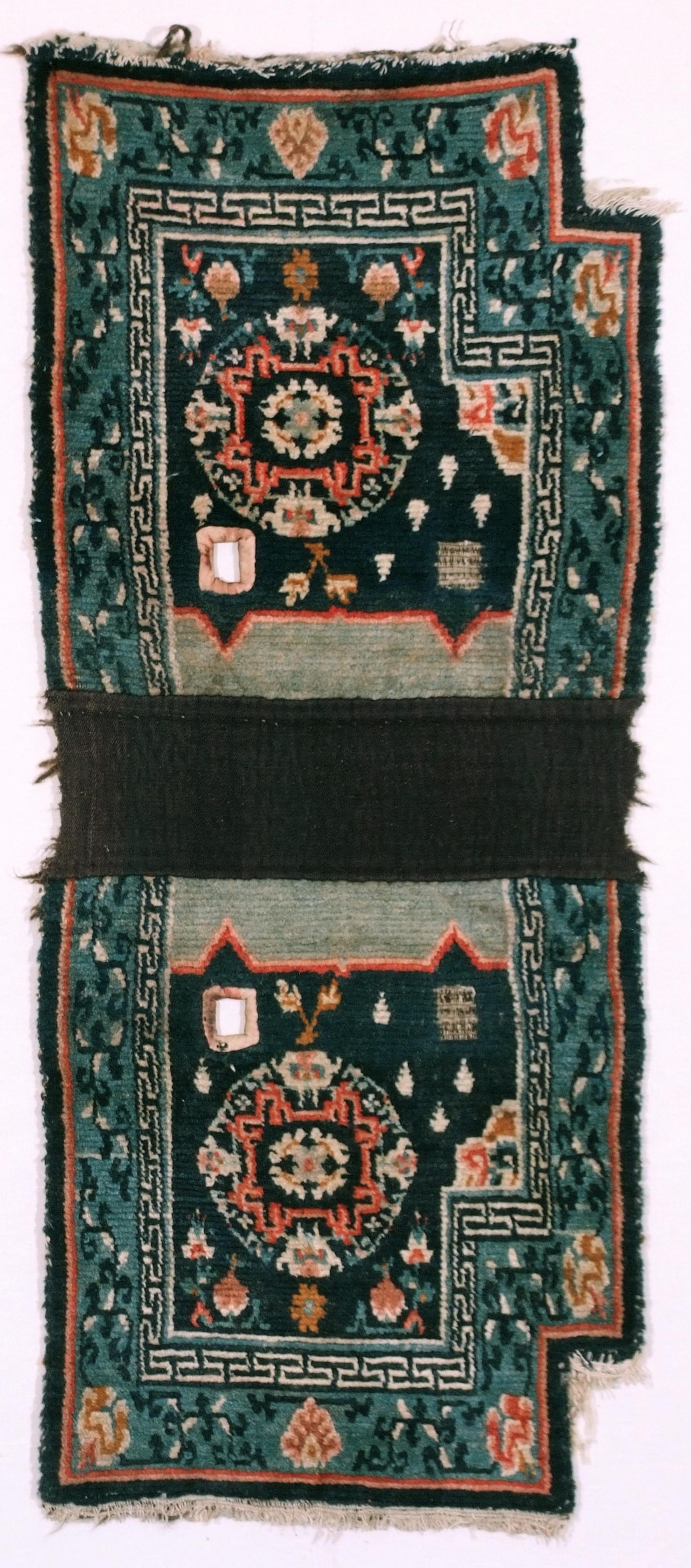 tibetan saddle cover, cm 128x55