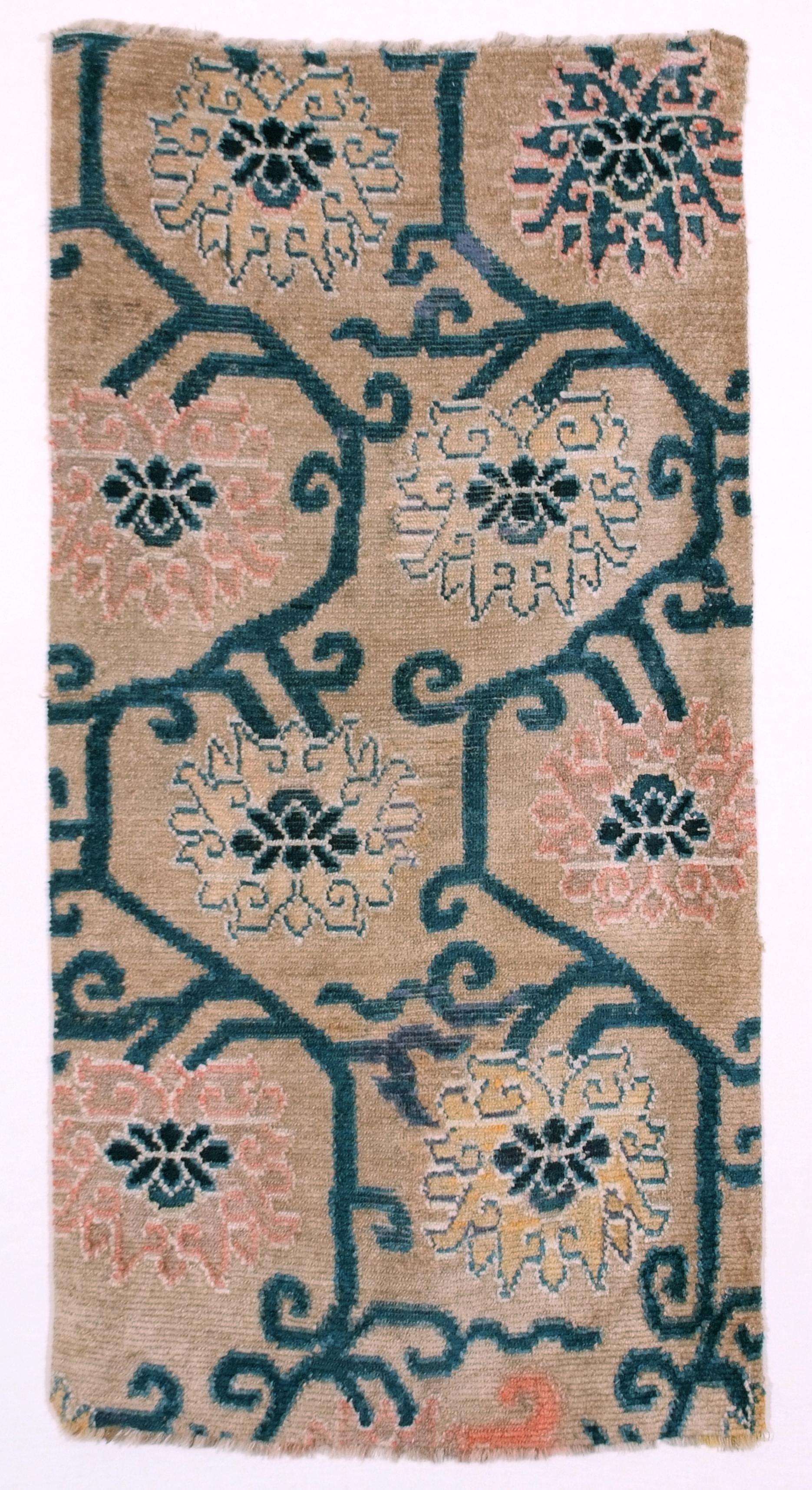 tibetan lotus khaden, cm 161x86