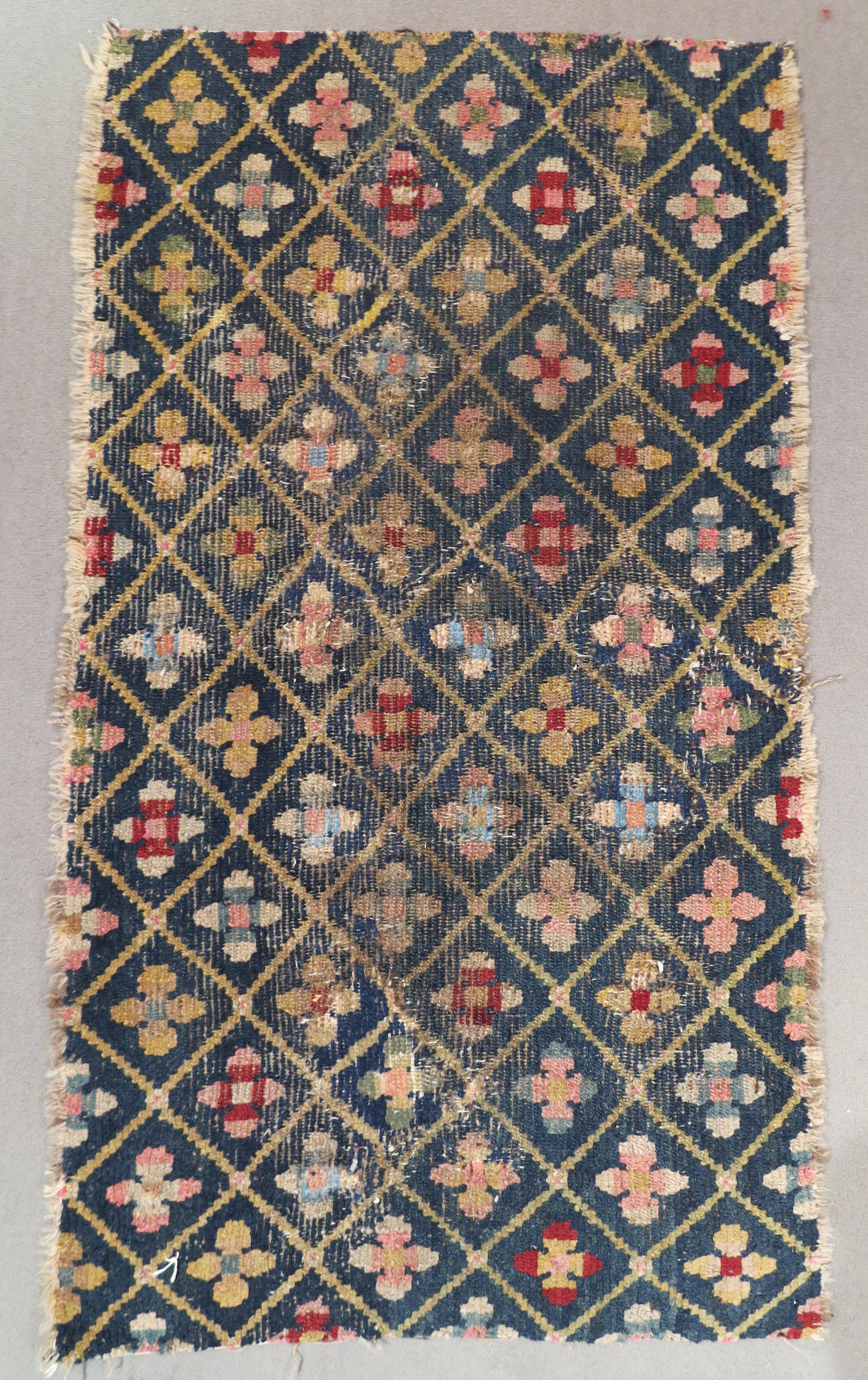 tibetan fragment, cm 110x62