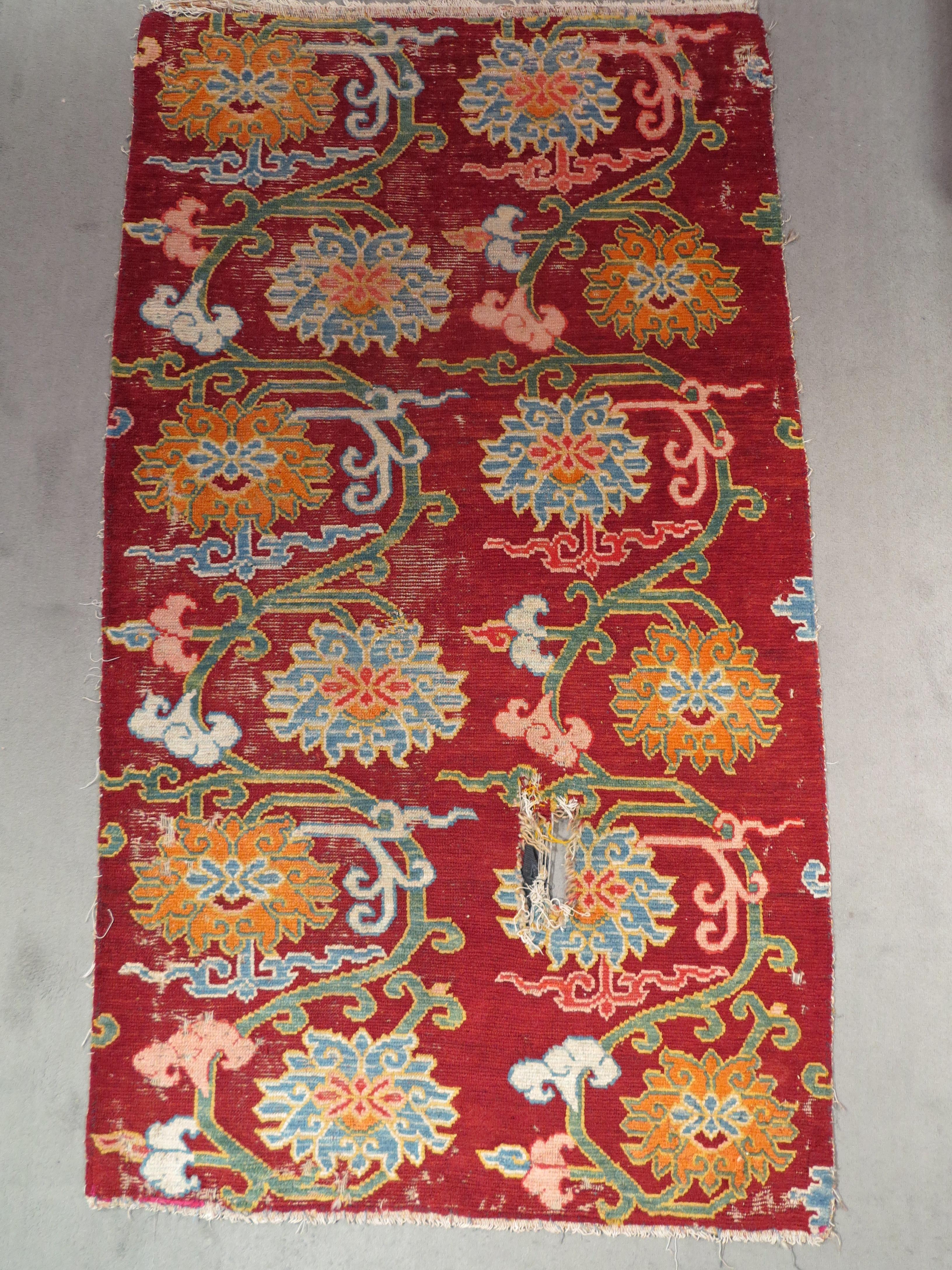 tibetan lotus khaden, cm 158x89